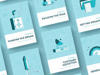 Startup Book Illustrations