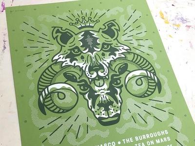 CSU poster design halftones design illustration poster