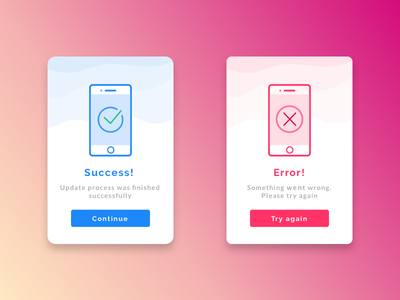 Daily UI #011 - Flash message #011 011 success notification mobile error message flash daily challenge