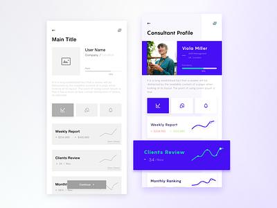 Wireframe | Graphic design osx app profile user ui ux graphic design wireframe