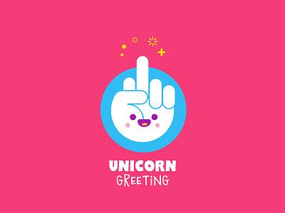T-Shirt illustration Unicorn greeting funny unicorn t-shirt vector kawaii