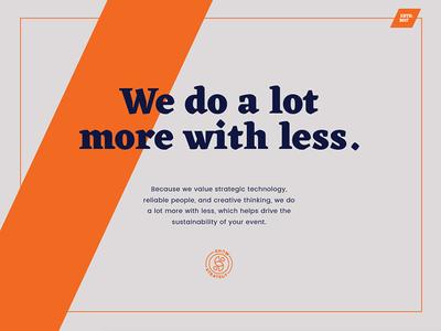 Show Me 2 orange blue logo studio agency graphics design branding