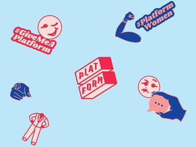 Platform Branding non-profit women politics design branding