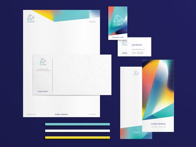 ID360 Stationery letterhead business cards stationery women owned design branding