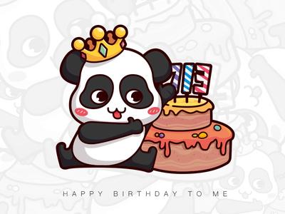 Birthday illustrator birthday