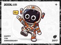 Zcool 11th anniversary diagrams