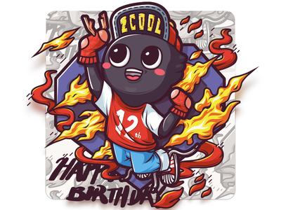 This Animal Year zcool illustrator birthday