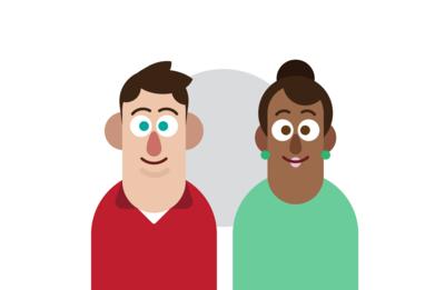 Pamphlet Character Design