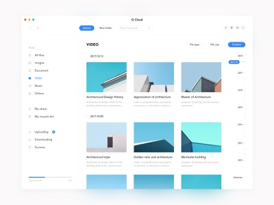 Dashboard collection ux management file ui store dashboard colour card app