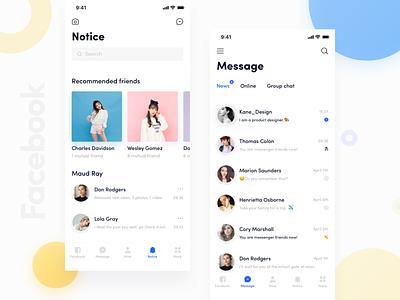 Facebook App_01 kane-d kane facebook design icon ue blue app