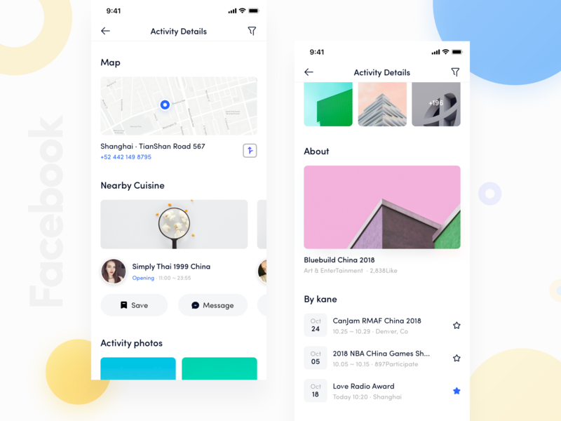 Facebook App_05 by Kane_D | Dribbble | Dribbble