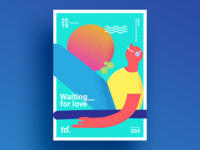 WaitingForLove - Poster Design