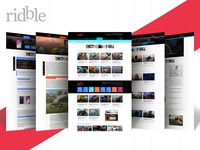 Ridble Website
