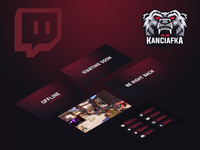 Kanciafka Stream Graphics