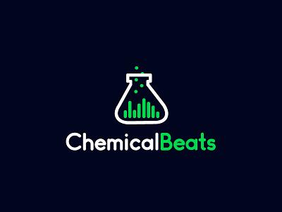 Chemical Beats design branding logo