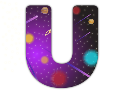 36 Days of Type - U is the univers