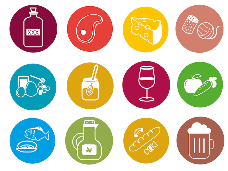 Icons Food Categories By Verynicedesignbe On Dribbble