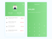 Credit Card App Design