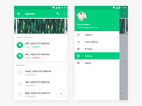 Sposter App Concept