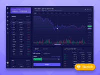 Cryptocurrency Trading Concept