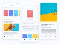 Topabord App UI Kit Design