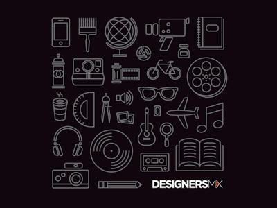 DesignersMX T-shirt illustration icon nashville