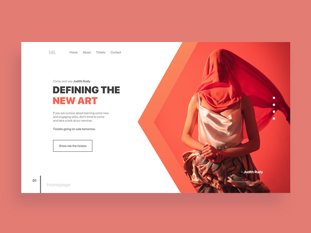 Defining the new art colors branding flat pantone clothes landing page landing app design typography clean ux website web page landing page white space web-page landing page web ui