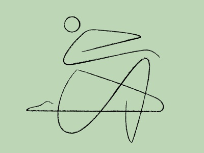 Human figure drawing person monoline one line gestural figuredrawing human