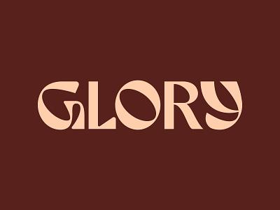 Glory Logotype branding logo type g beauty skincare typography logotype