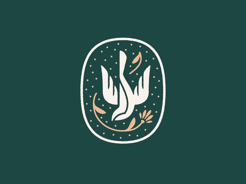 Ida Graves Symbol identity branding alcohol bird symbol logo