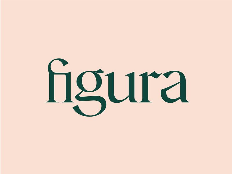 figura typography logotype