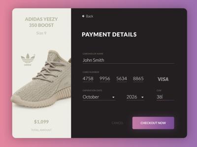 Daily UI / Credit card UI