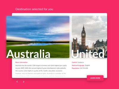 Curated For You – Day 91 #DailyUI website web ux ui dailyui daily you for curated 91