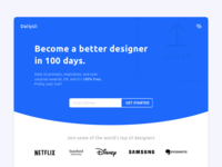 Redesign Daily UI Landing Page – Day 100 #DailyUI