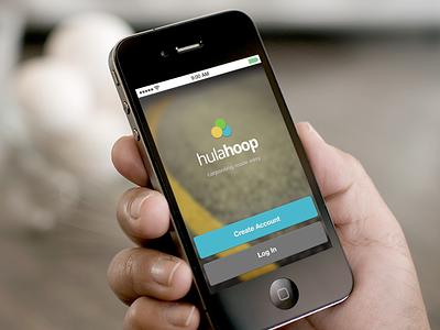 Concept Design for Upcoming App splash iphone ios 7 6 menu