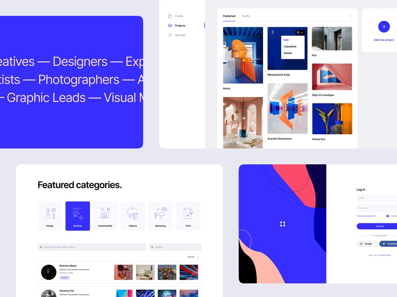 Product Design WIP product branding typography colors website interaction ux ui