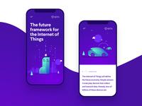 IOTA Foundation website proposal