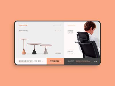 Desconexo - Website Concept UI website concept webdesign website design web web design desktop furniture home user interface uidesigns photoshop uidesigner uiux websites website ui uidesign