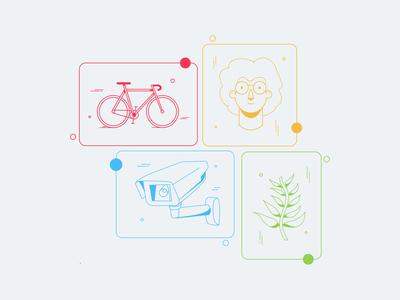 Smart City - vector illustrations