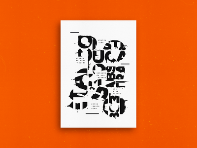 PROCESSO - Poster poster art letters typography type graphicdesign process poster