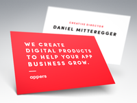 appers Business Cards