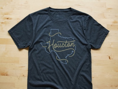 Houston Strong Tee Design