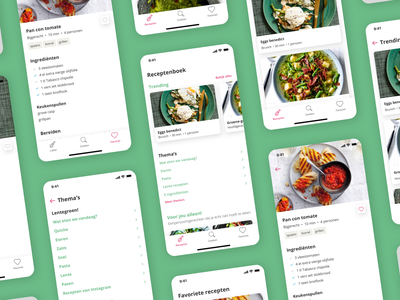 AH Cooking app recipe app cooking koken recepten app albert heijn ah