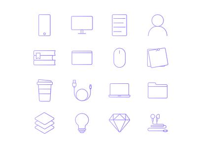 Design intern icons icon icon design computer apple sketch web purple. gradient icons intern design
