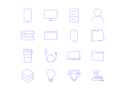 Design intern icons
