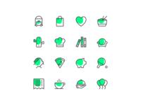 Temper icons