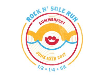 Rock 'N Sole Run Tshirt Concept   Hoan Bridge