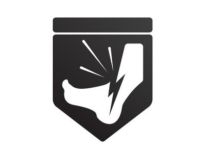Broken Ankle Badge