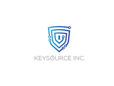 Keysource Inc. Logo vector design branding logo
