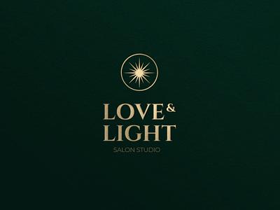 Logo for salon love light star letter logotypedesign logotype logodesign logo